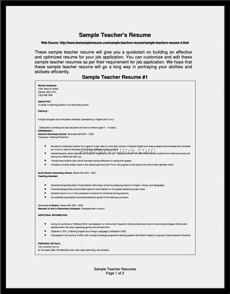 Retiree Resume Exles cover letter exles for career goals 28 images resume