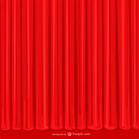 curtains drawn hand drawn red curtain vector free download