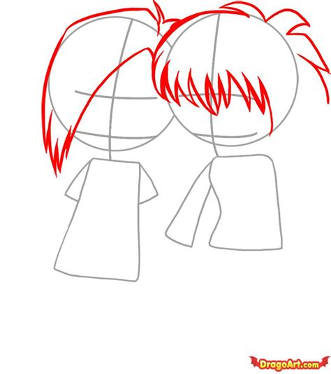 step by step emo hair how to draw emo love step by step anime people anime