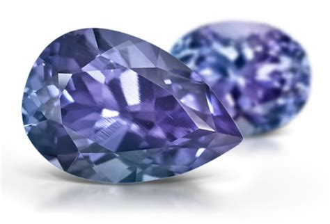 Synthetic Color Change Sapphire by Sapphire Synthetic Color Change Gemstone Information