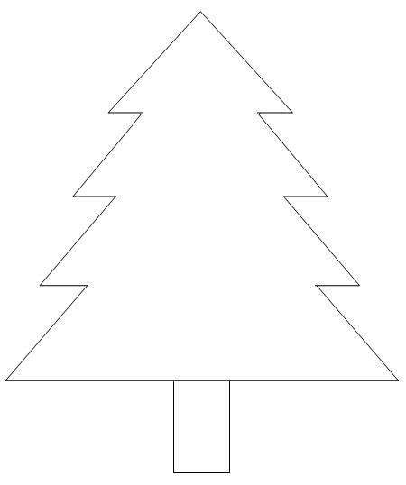 tree template card card ideas