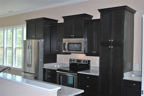 ebony stained kitchen cabinets quicua com
