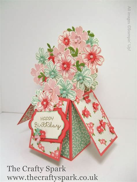Diy Papercraft Pop Up Card Bunga Pansy 101 best images about crafts card in a box on flower shops baby cribs and sting