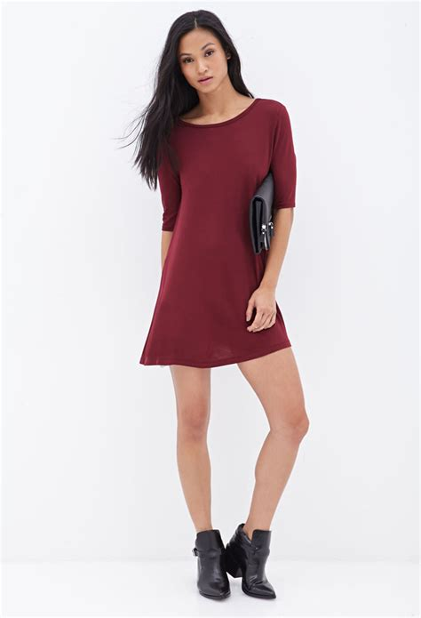 Dress Anak 1 3 T forever 21 knit t shirt dress in lyst