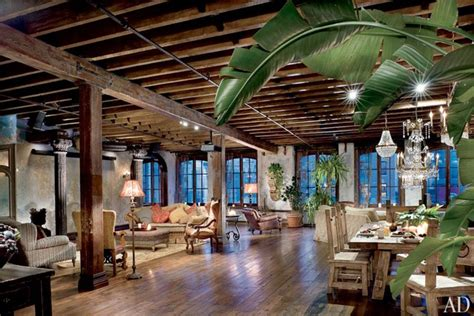 viewing a thread shop loft pictures tour gerard butler s two story loft in manhattan photos
