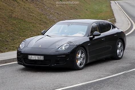 Porsche Panamera Facelift by Spyshots 2013 Porsche Panamera Facelift Autoevolution