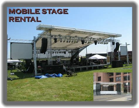 mobile stage mobile stage