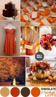 fall color scheme fall wedding color palette