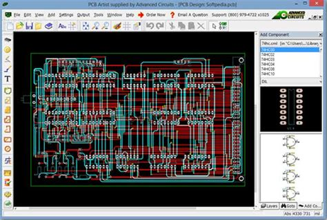 layout artist software online offline circuit design software for beginners and