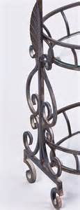wilamina wrought iron vegetable or fruit stand