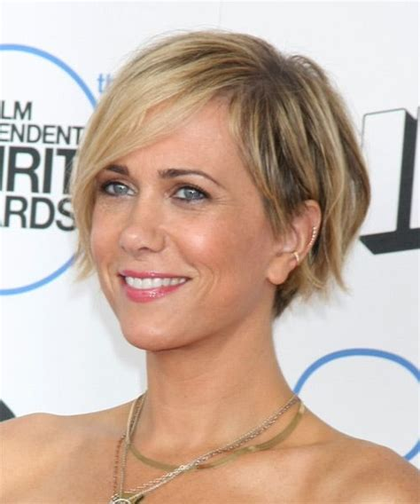 How To Use Wax To Style Hair by How To Style Kristen Wiig Asymmetric Hairstyle