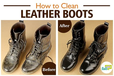 How To Wash Leather by How To Clean Leather Boots Step By Step With Pictures