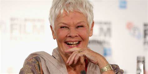 dame judi dench teeth judi dench gets her first tattoo at 81 years old photos