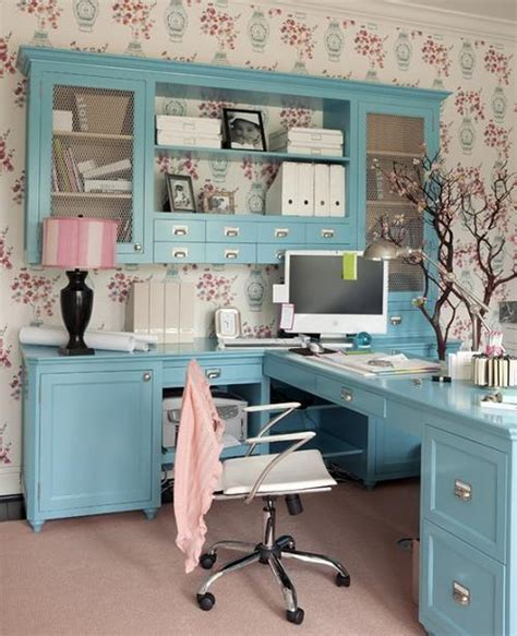 14 feminine home office design ideas diy cozy home