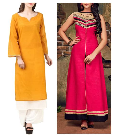 new neck pattern of kurti 20 new kurti neck designs simple craft ideas