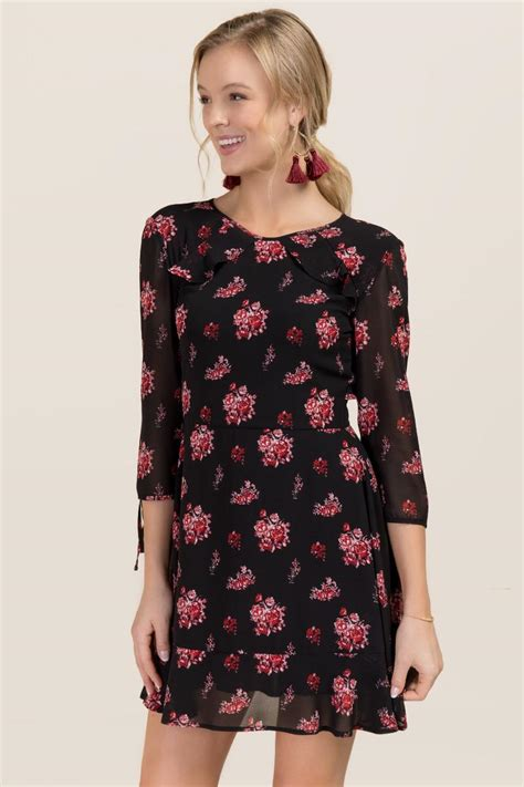 Laurie Dress laurie floral ruffle dress s