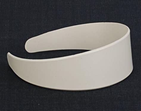 Plain Hair Band strait city image plain hairband white hbf102