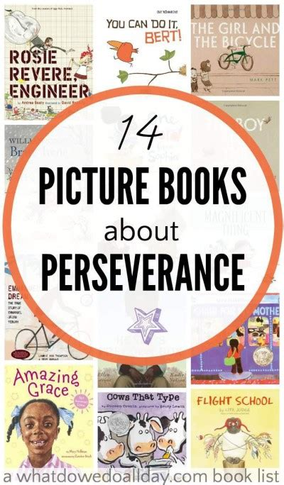 picture books that teach idea picture books about perseverance for