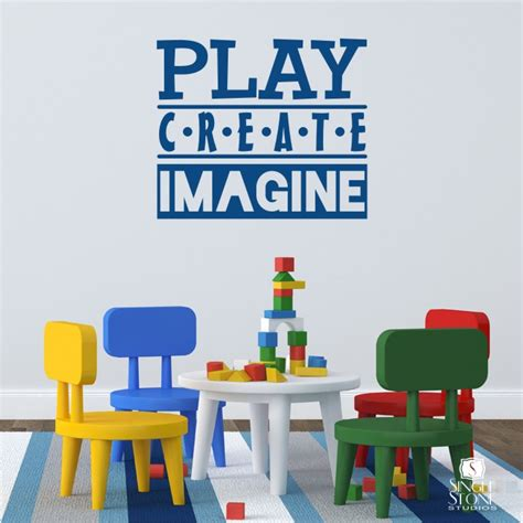create a wall sticker play create imagine wall decals wall decals wall