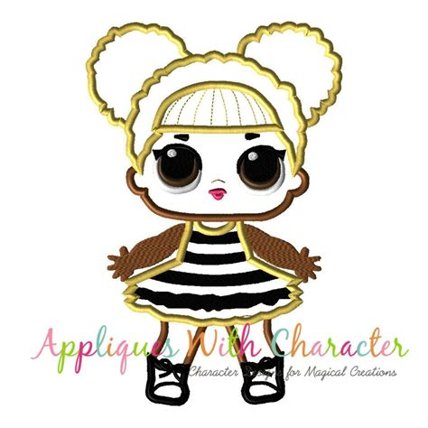 embroidery applique design glitter doll applique design appliques with character
