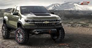 2015 chevrolet colorado zr2 concept truck rocks 2014 la