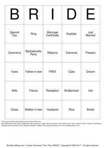 free bridal bingo template free printable bridal shower bingo cards search results