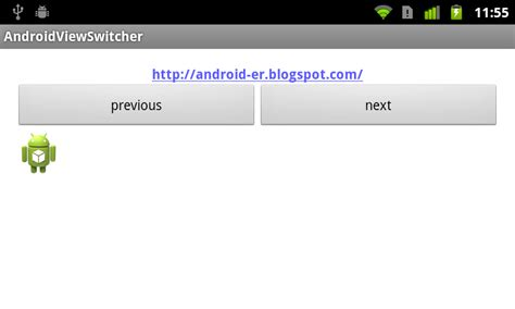 android layout xmlns android er exle of viewswitcher