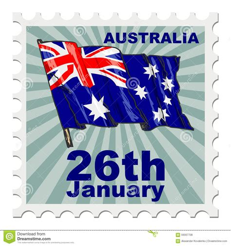 image of day national day of australia stock illustration image of