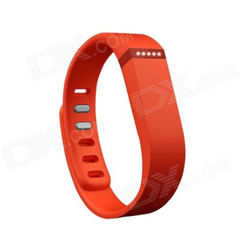 Large Wrist Band w/ Clasp for Fitbit Flex Smart Bracelet   Orange   Free Shipping   DealExtreme