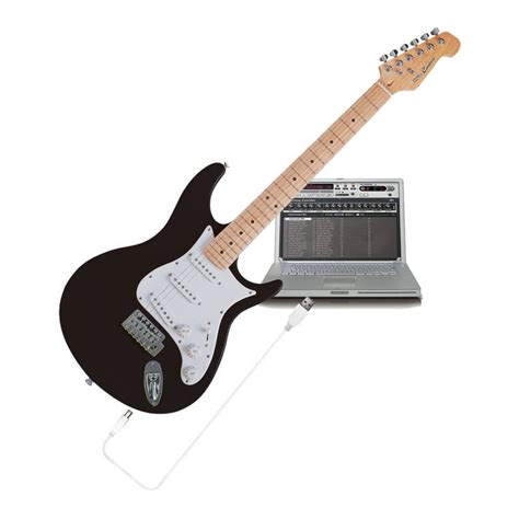 Usb Gitar Behringer Iaxe624 Centari Usb Guitar Bk At Gear4music
