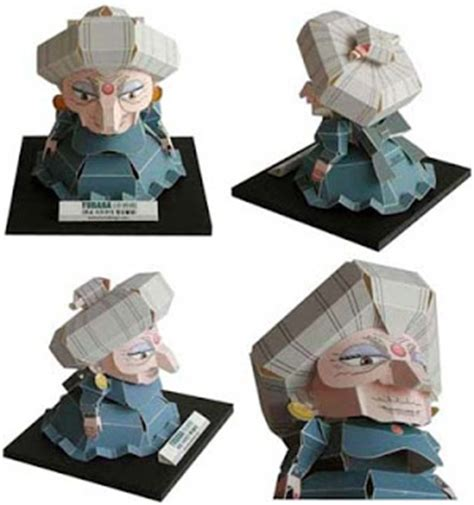 Spirited Away Papercraft - spirited away papercraft yubaba paperkraft net free