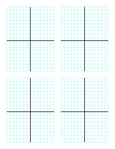 graph paper printable 8 5x11 school smart graph papers