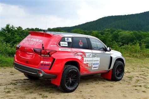 2015 mitsubishi rally car refreshed mitsubishi outlander phev to be presented at the