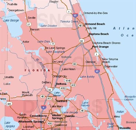 Volusia County Florida Records Trail Maps Wiki Volusia County Peroulakis