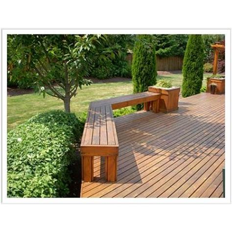 wood deck bench seats 17 best ideas about deck seating on pinterest deck bench