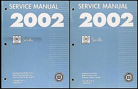 service manual how it works cars 2002 cadillac escalade navigation system sell used green 2002 cadillac seville repair shop manual original 2 volume set