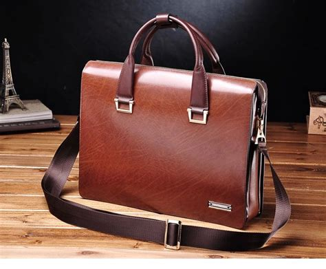 mens leather business bags briefcases leather bags