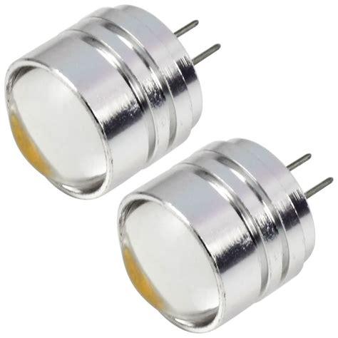 Meval Led Bulb 3w 2pcs g4 3w led light cob leds led l bulb dc 12v in warm white energy saving l led lights