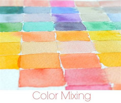 watercolor mixing tutorial best 25 color mixing chart ideas on pinterest color