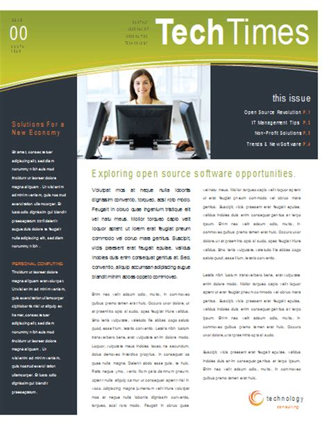microsoft office newsletter templates free email newsletter design newsletter templates ready