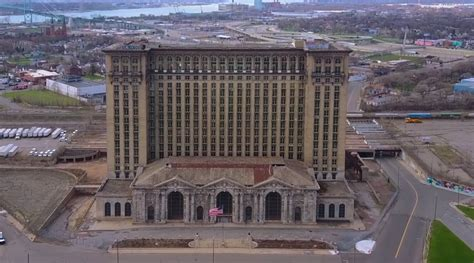 Ford Detroit by Ford Buys Historic Detroit Station