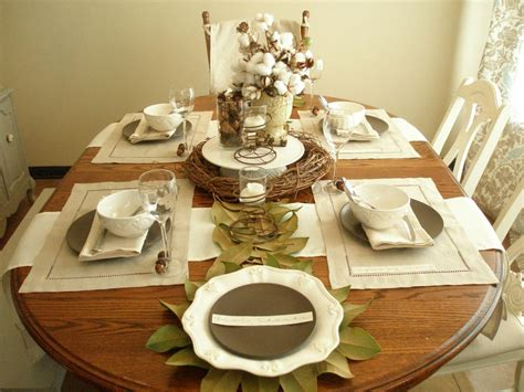 dining table setup table setting ideas kitchen house ideas nature inspired