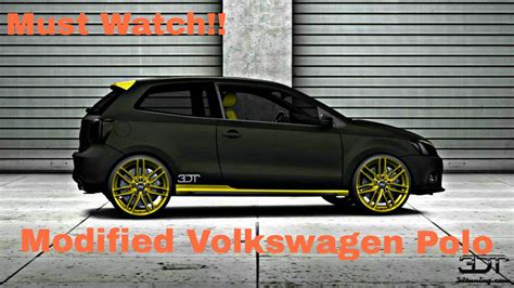 volkswagen polo black modified volkswagen polo modified car www pixshark com images