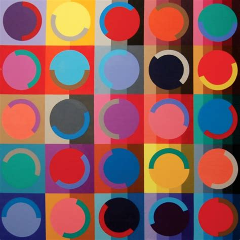 40 Aesthetic Geometric Abstract Art Paintings   Bored Art
