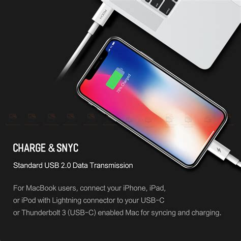 Rock Pd Rcb0541 Type C To Lighting Charging Cable 15w 100cm ท ชาร จแบต pd fast charger set rock for iphone x 8 plus with type c to lighting cable