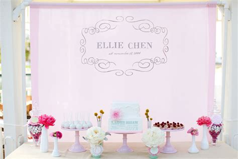 backdrop design birthday party jl designs 1st birthday party for baby ellie