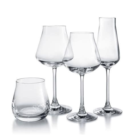 bicchieri cristallo baccarat baccarat set 4 bicchieri degustazione in cristallo