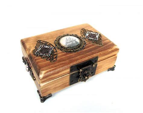 Wedding Jewellery Box by Nautical Jewelry Box Pirate Treasure Chest Pirate Ship