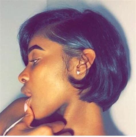 short hair cut with no relaxer angles hair pinterest bobs short hair and shorts