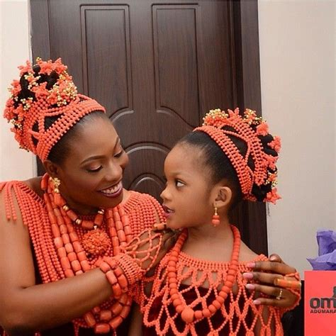 brides on braids for nigeria wedding coral beads jewelry nigerian weddings a collection of